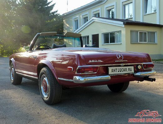 Mercedes-Benz 280SL багажник