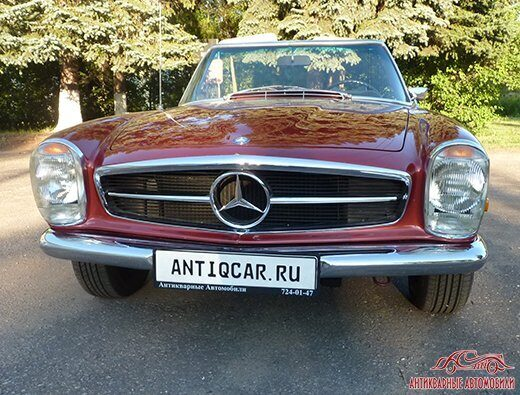 Mercedes-Benz 280SL решетка радиатора