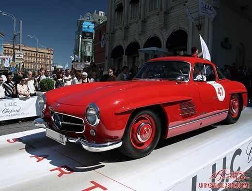 Mercedes-Benz 300sl ралли