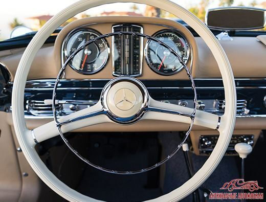 салон Mercedes-Benz 300sl