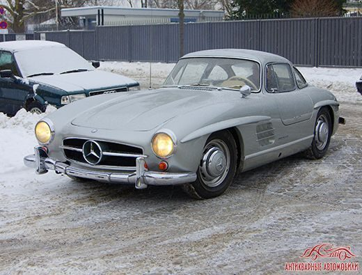 Mercedes-Benz 300sl Россия