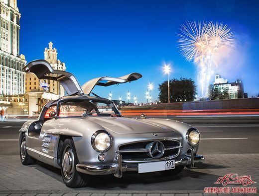 фара Mercedes-Benz 300sl Москва