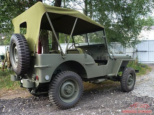 Willys MB реставрация