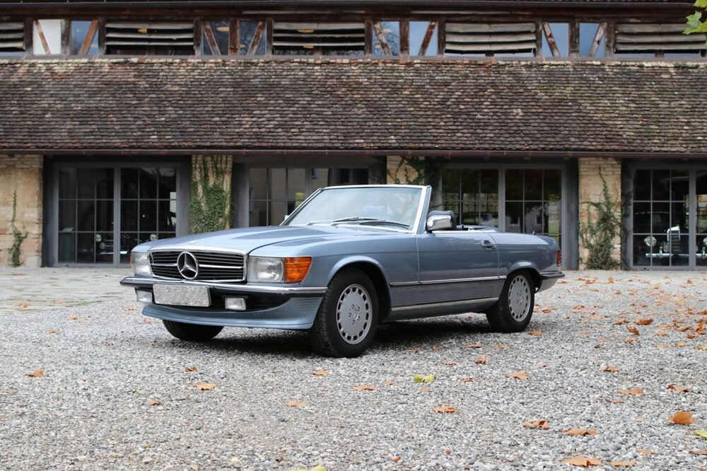 Mercedes-Benz SL R107 покупка